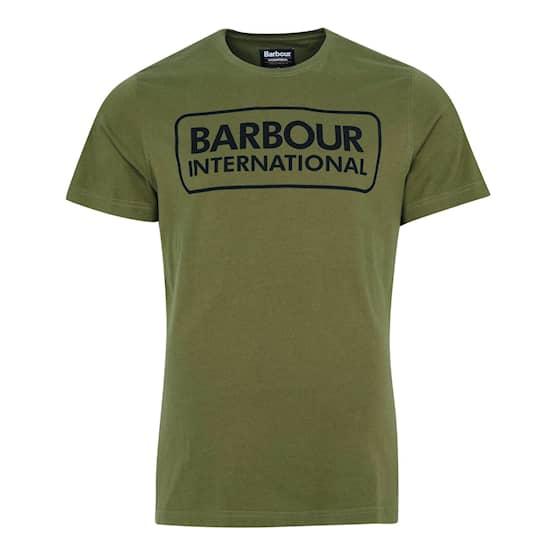 B.Intl Essential Large Logo Tee, Vintage Green, S