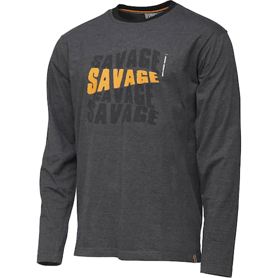 SG Simply Savage Logo-Tee Long Sleeve