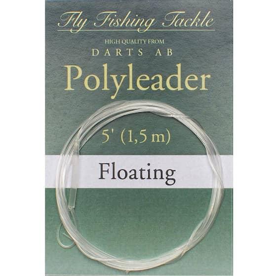 Darts Flugtafs 5' Floating Taperad Poly Leader