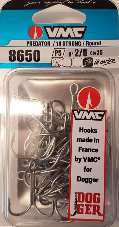 VMC 8650PS Trekrok #2/0 25-pack