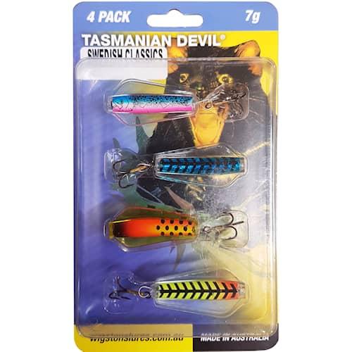 Tasmanian Devil 7 g Swedish Classics 4-pack