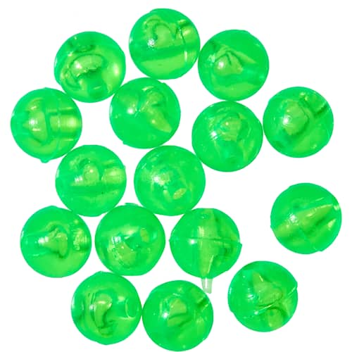 Gunki Carolina Bead 6 mm Chartreuse 15-pack