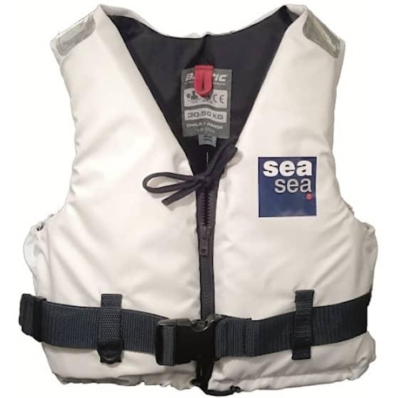 Flytväst Seasea Vit 30-50Kg