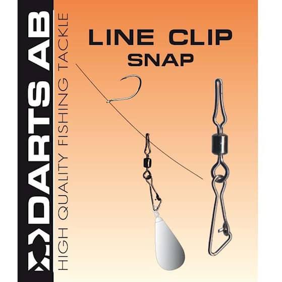 Darts Line Clip Snap #07 9-pack
