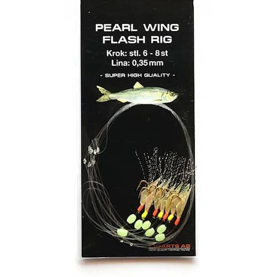 Darts Pearl Wing Flash Rig #8
