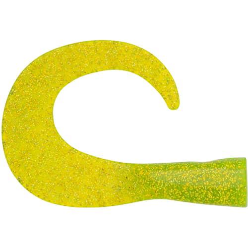 Svartzonker Big Tail Junior Chatreuse 2-pack