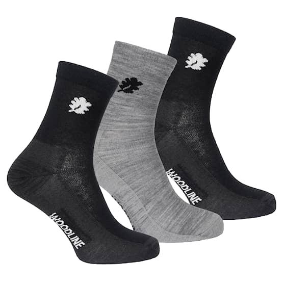 Woodline Socka Liner Merinoull 3-pack 40-45