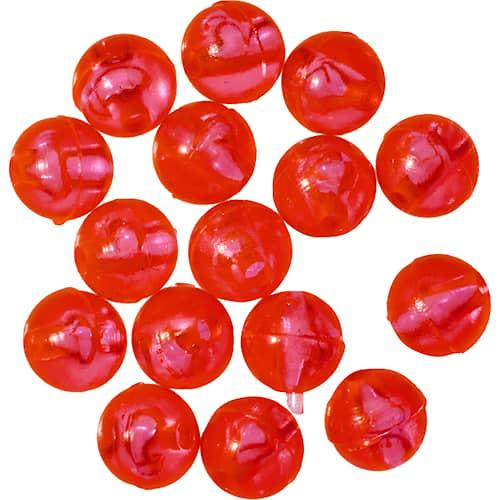 Gunki Carolina Bead 6,5 mm Red 15-pack