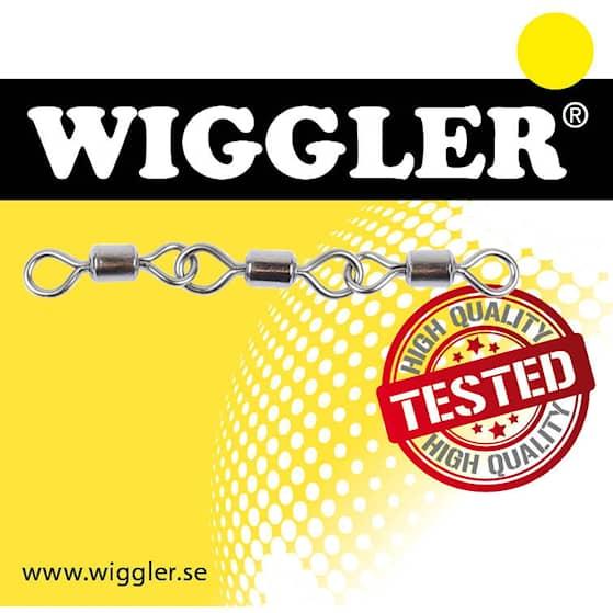 Wiggler Triple Rolling Swivel Black Nickel #6