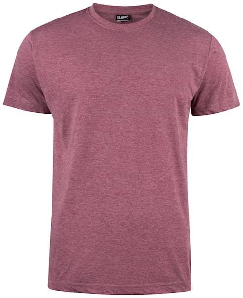 Clique T-shirt Herr Bordeaux M