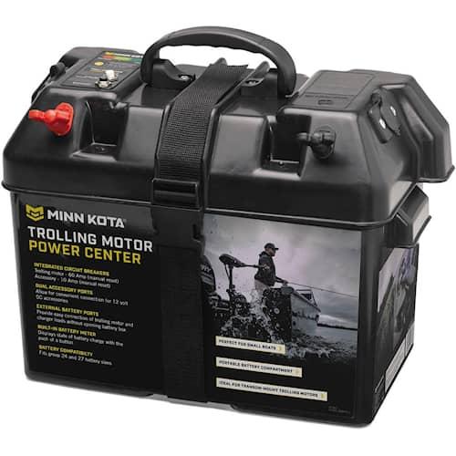 Minn Kota Batterilåda 1x10A+1x60A Automatsäkring