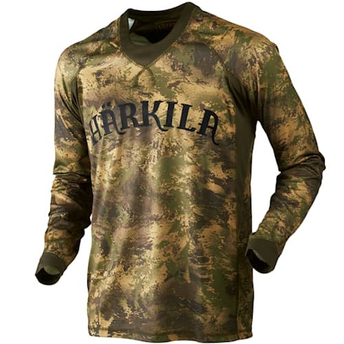 Härkila Lynx L/S T-Shirt Forest Green - S