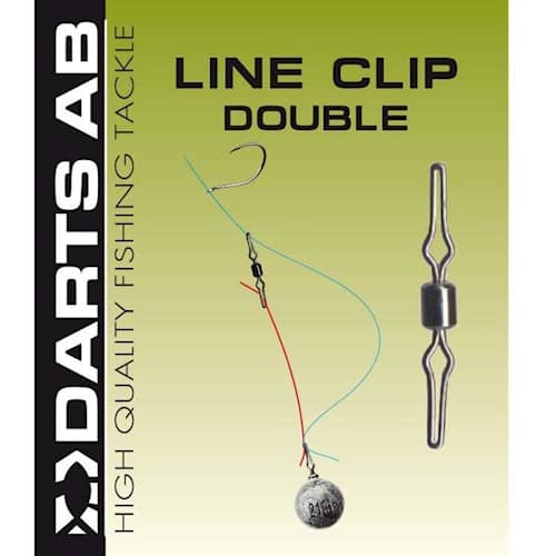Darts Line Clip Double #07 9-pack
