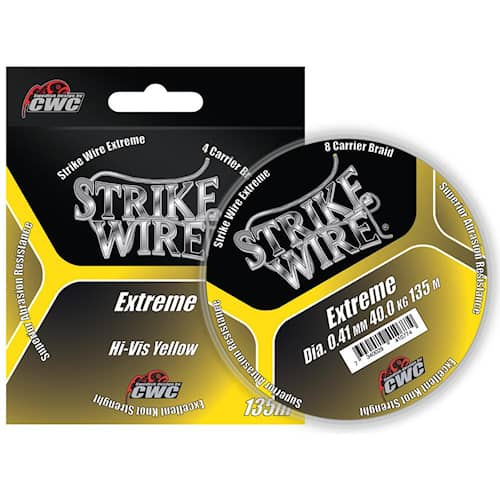 Strike Wire Extreme 0,13 mm 135 m H-V Yellow