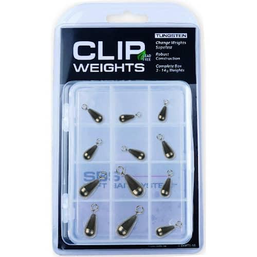 Darts Clip Weights Box Tungsten 12-pack