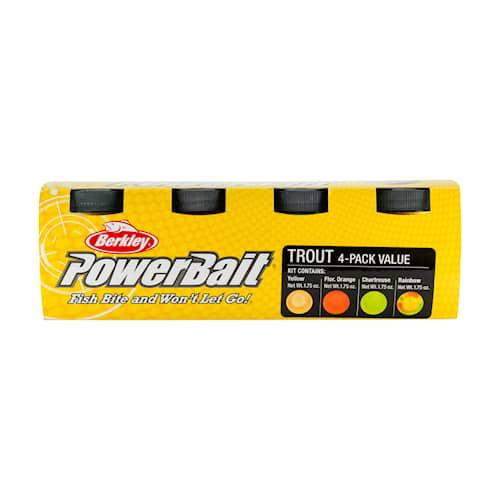 Powerbait Trout Bait Value Pack Classic 4-pack