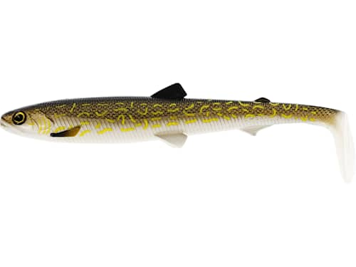 BullTeez Shadtail 18 cm Natural Pike