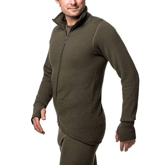 Woolpower Full Zip Jacket Grön