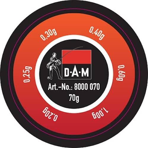 DAM Lead Assortment Fine 70 g