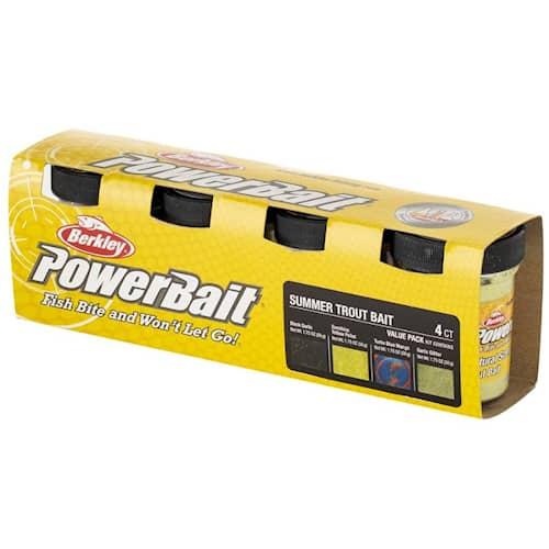 Powerbait Trout Bait Value Pack Summer 4-pack
