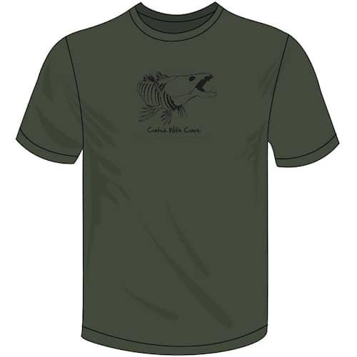 CWC Skeleton T-shirt Dark Green S