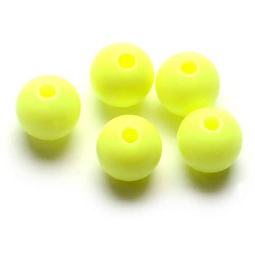 Darts Plastic Bead 6 mm Chartreuse 9-pack