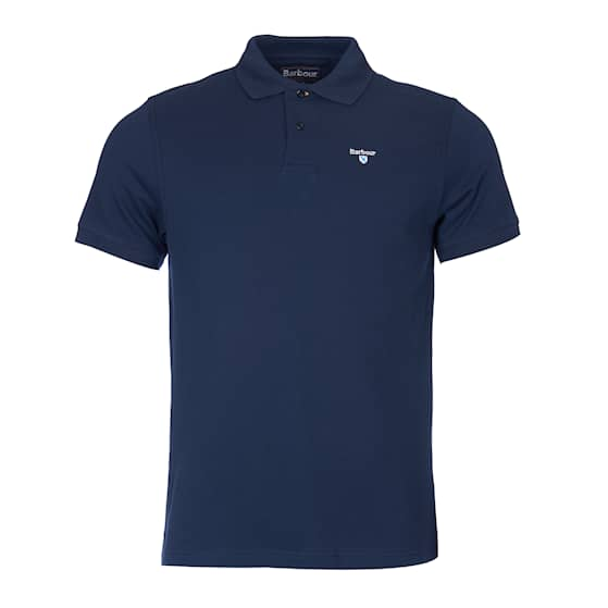 Barbour Sports Polo Navy Herr