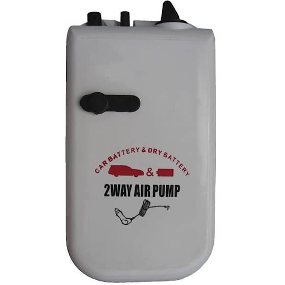 Wiggler luftpump AP-2102 batteri eller cigguttag