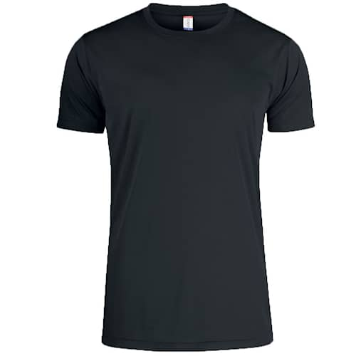 Clique T-shirt Funktion Svart - 3XL