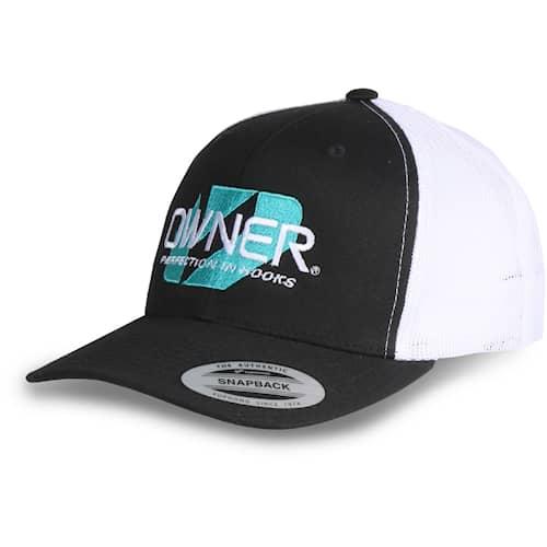 Owner Trucker Cap Snapback, Black/White