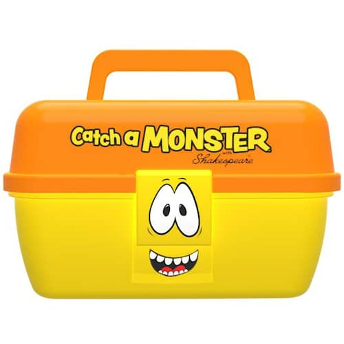 Shakespeare Catch a Monster Betesbox Gul/Orange