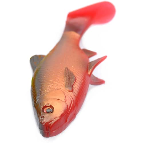 SG 3D LB River Roach Paddletail 22 cm Blood Belly 2-pack
