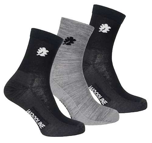 Woodline Socka Liner Merinoull 3-pack 35-39
