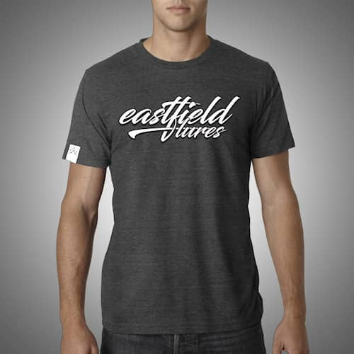 Eastfield T-Shirt Typography Grey S