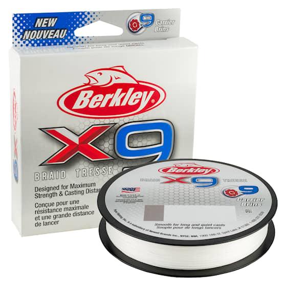 Berkley X9 0,06 mm Fiskelina