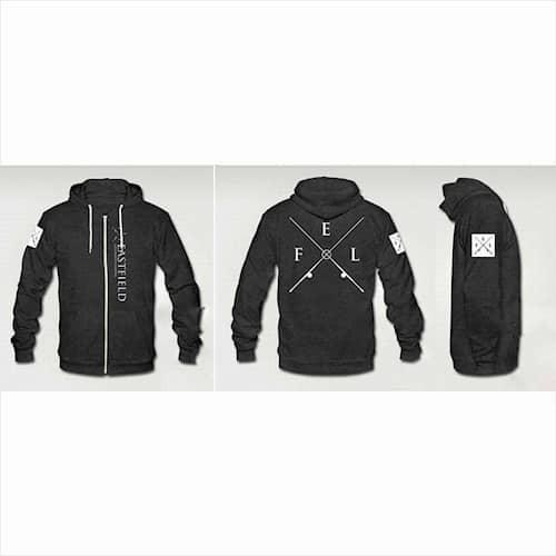Eastfield Zip Hoodie Dark Grey XL