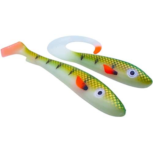 Svartzonker McRubber Glow Series Sea & Lake 25 cm/34 cm Glow Sea Perch 2-pack