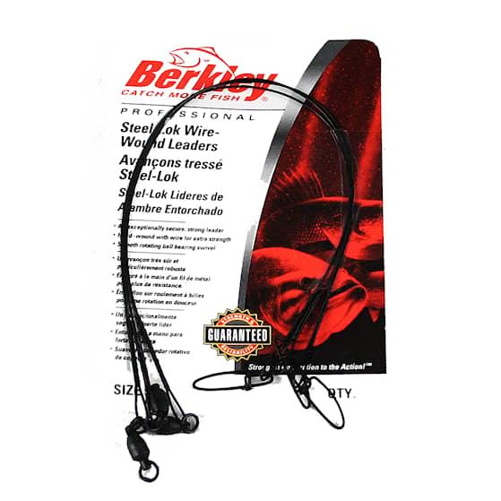Berkley Wire Wound Steelon Ståltafs 45 cm 18'' 30 lb 3-pack