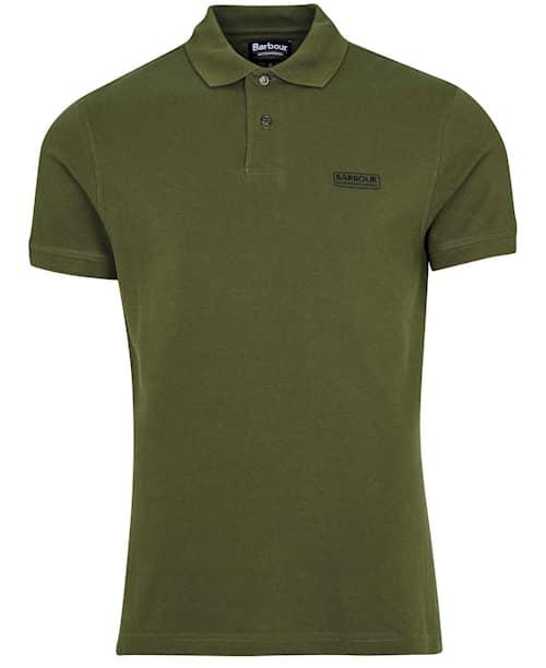 B.Intl International Essential Polo, Vintage Green, S