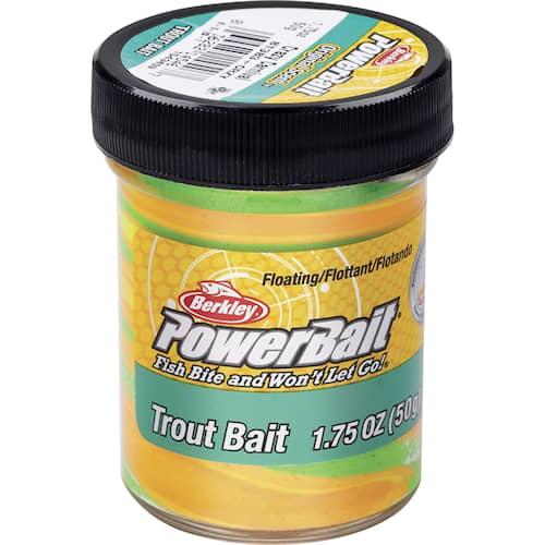 Powerbait Trout Bait Triple Swirl Crazy Carnival