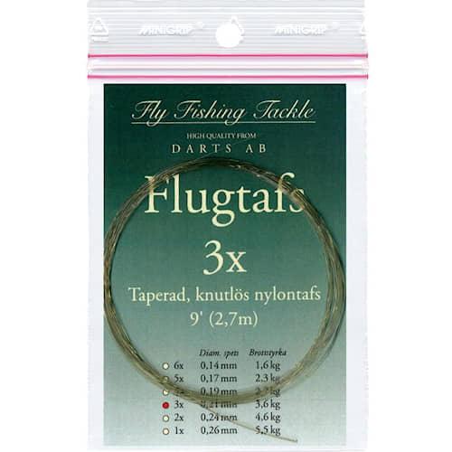 Darts Flugtafs 9' 1X Knutlös