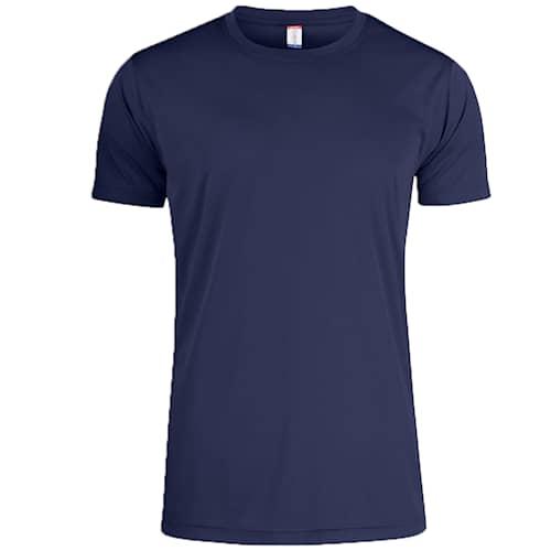 Clique T-shirt Funktion Herr Marinblå - S